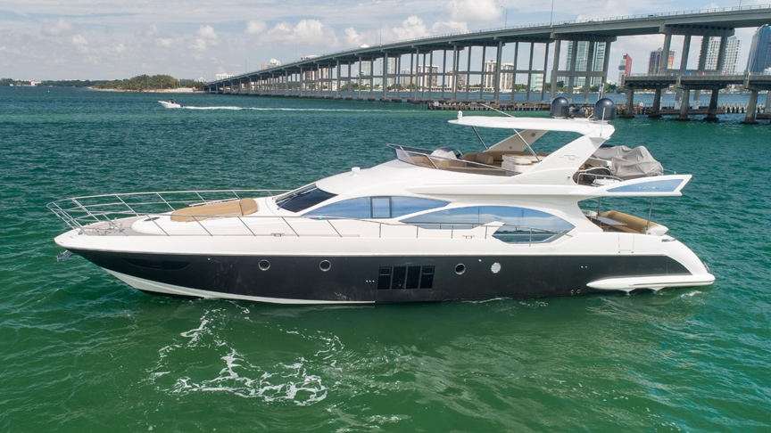 70 Azimut Fly Reel Deal Yachts