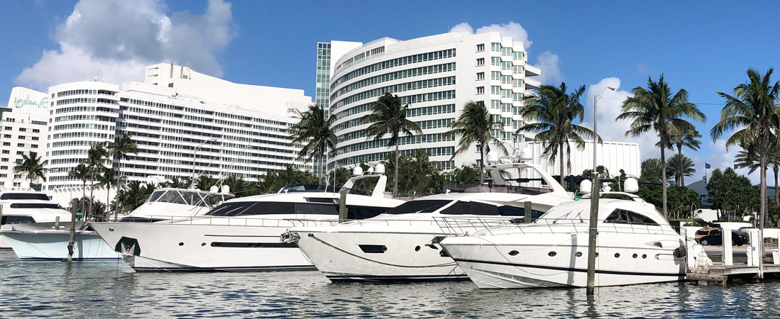Fontainebleau Marina Header - Reel Deal Yachts