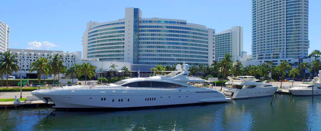 Fontainebleau Marina Bottom - Reel Deal Yachts