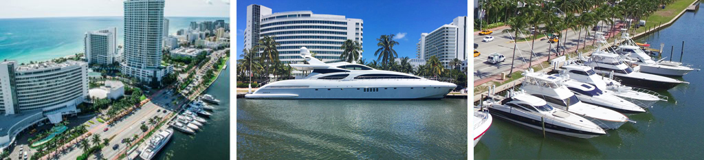 Fontainebleau Marina Main - Reel Deal Yachts
