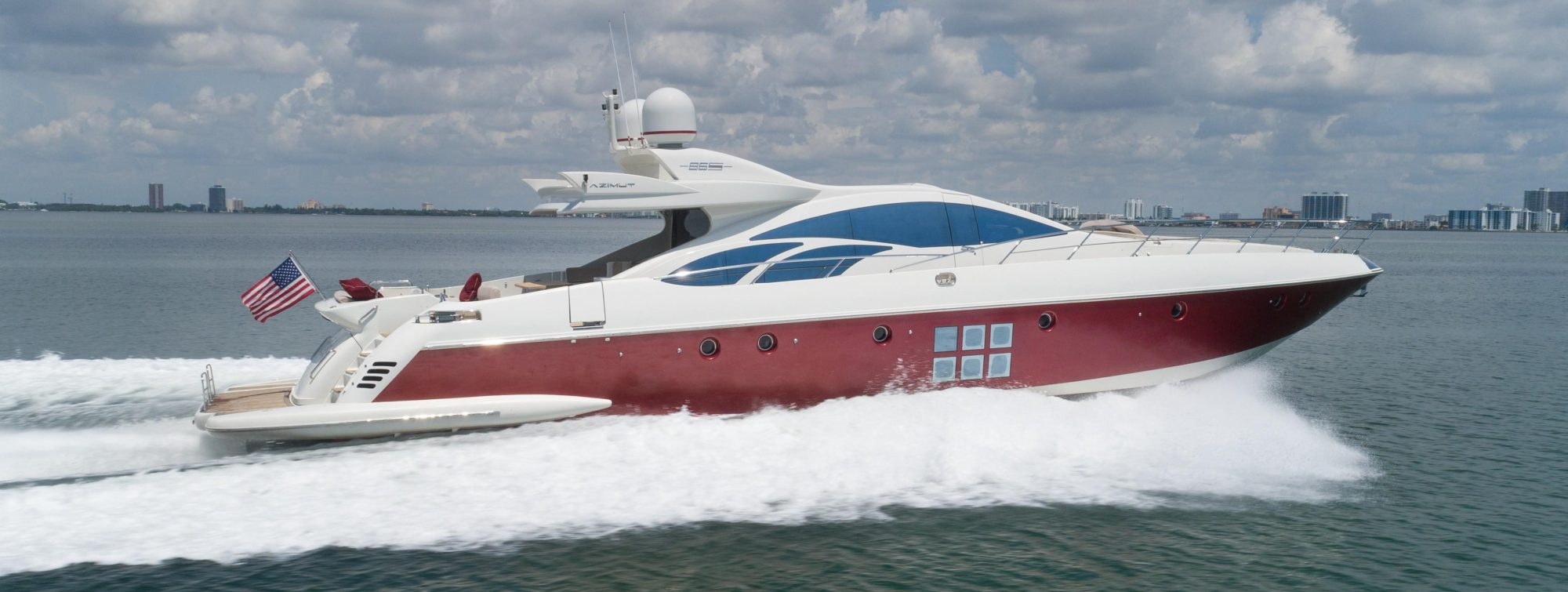 Azimut yacht reduced price